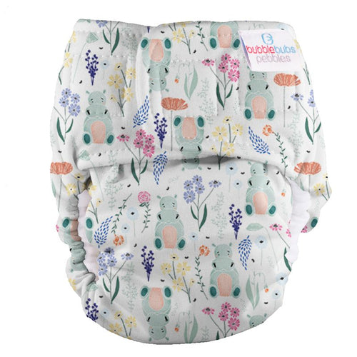 Bubblebubs Pebbles Newborn Nappy Venus Minky