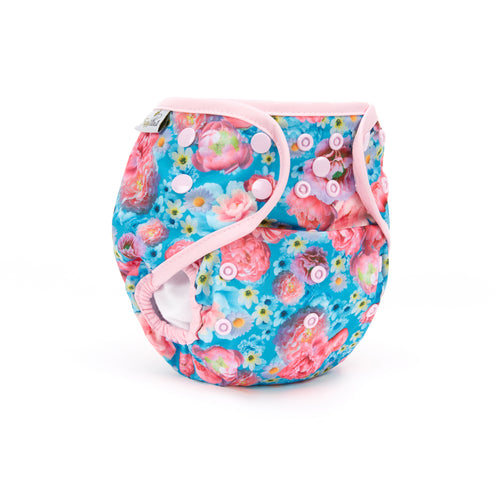 Fudgey Pants Nappy 3'N'1 Peony Passion