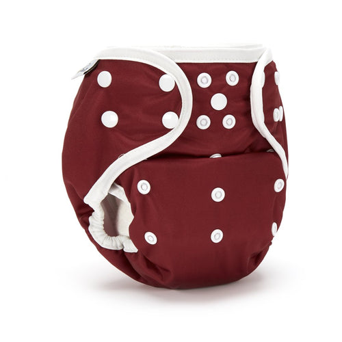 Fudgey Pants Nappy 3'N'1 Rosso