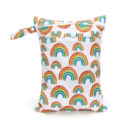 Fudgey Pants Double Pocket Wet Bag Prismatic
