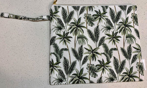Snuggle and Squish Nappy Clutch - Boho Palms