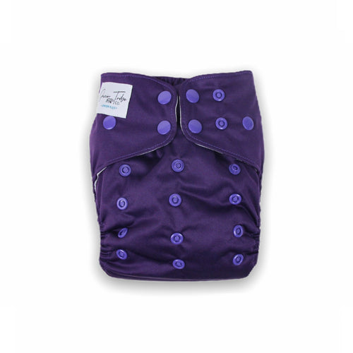 Junior Tribe Co Flex Cloth Nappy Amethyst