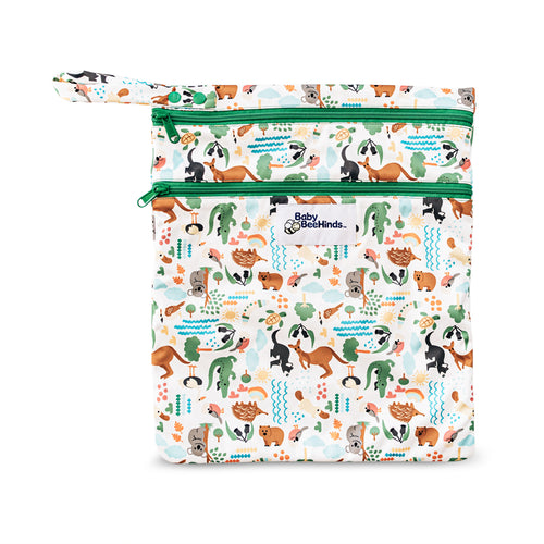Baby Beehinds Double Pocket Wet Bag Bush Buddies