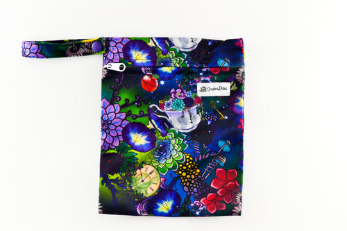 CrackaDaks Mini Wet Bag Enchanted Garden