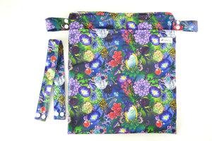CrackaDaks Wet Bag Enchanted Garden