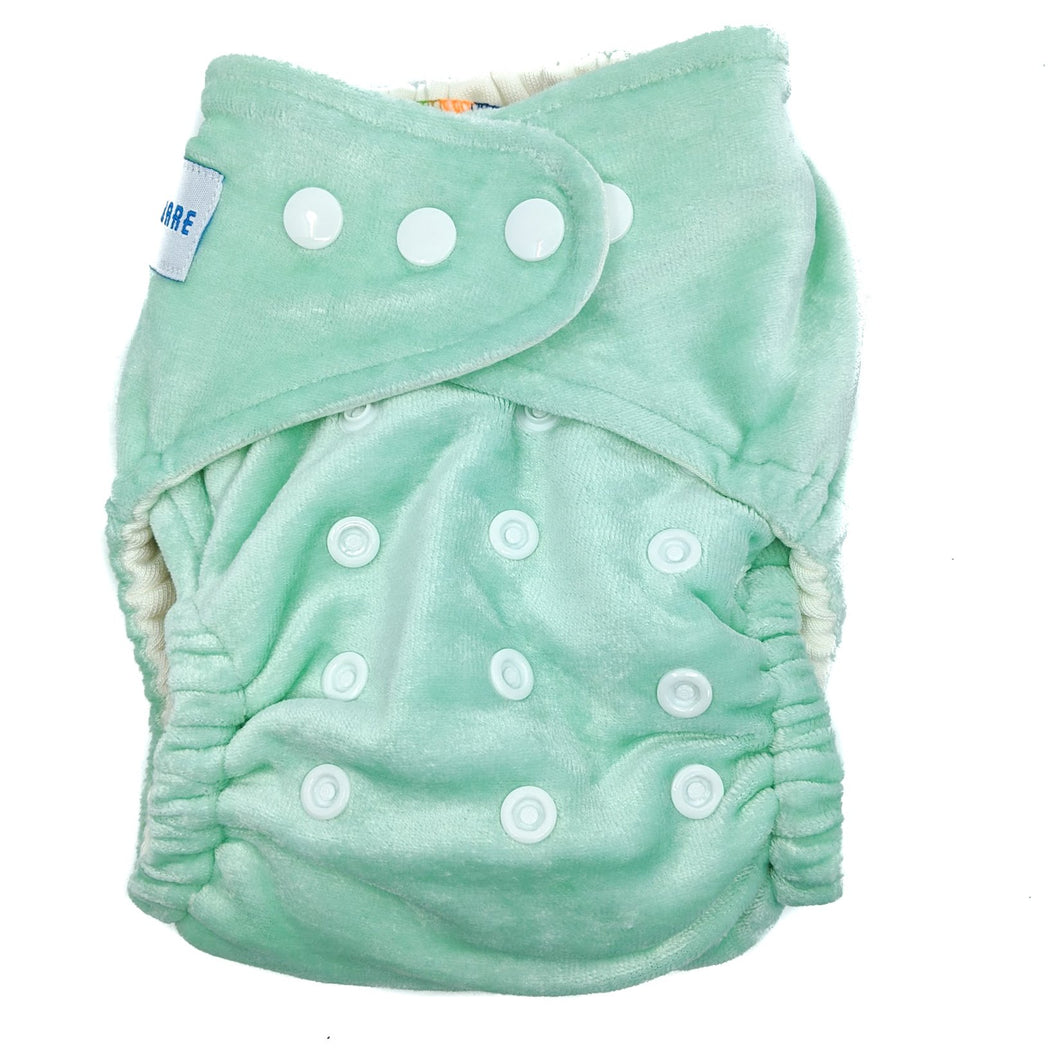 Baby Bare Honey Pot Night Nappy Mint