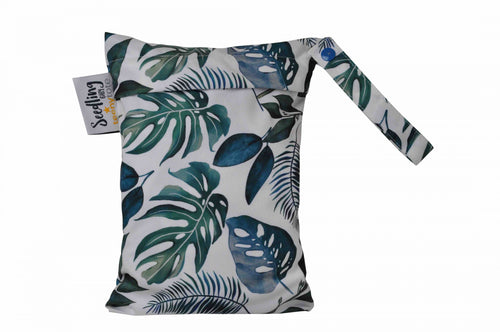 Seedling Teeny Tote Reusable Wet Bag Tropical