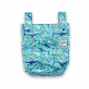 Junior Tribe Co Mini Wet Bag Shark Tale