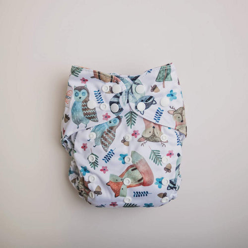 Monarch The Ultimate Nappy Snaps Woodland Friends