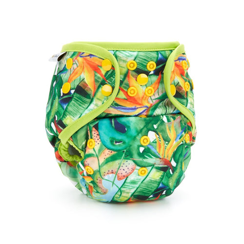 Fudgey Pants Nappy 3'N'1 Tropi-folia