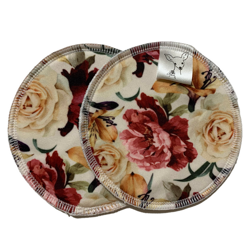 Little Bambi Breast Pads Vintage Blooms