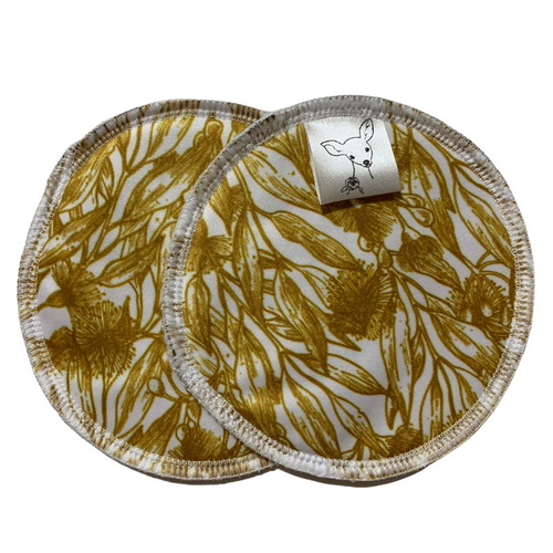 Little Bambi Breast Pads Golden Wattle