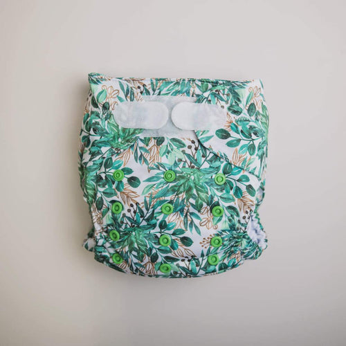 Monarch The Ultimate Nappy Velcro Evergreen