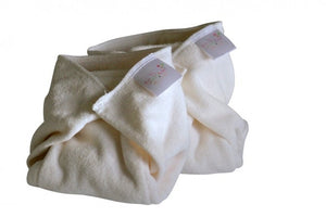 Bubblebubs Bamboo Stretch Terry Prefolds - The Nappy Bucket
