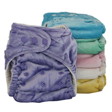 Load image into Gallery viewer, Baby Bare Honey Pot Night Nappy Purple