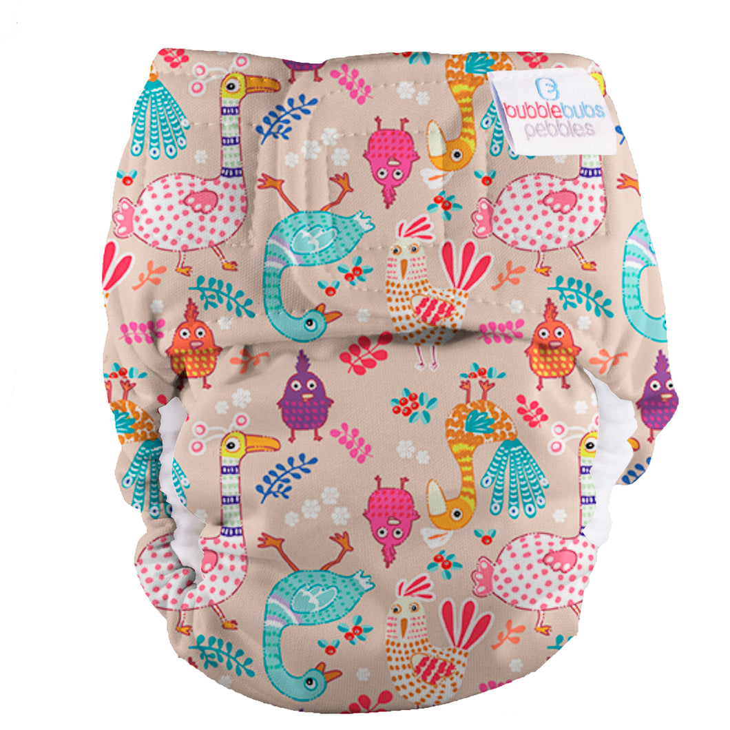 Bubblebubs Pebbles Newborn Nappy Dixie Chicks PUL