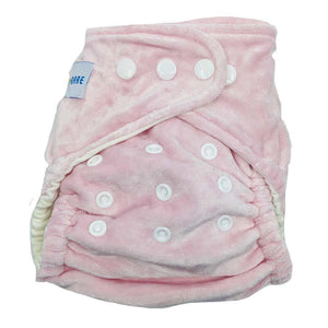 Baby Bare Honey Pot Night Nappy Light Pink