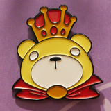 Warrior Bear Pin
