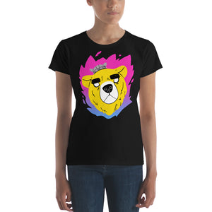 Warrior Bear Ladies Cut T-Shirt