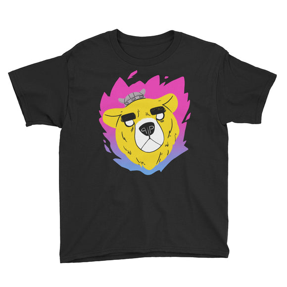 Warrior Bear Youth T-Shirt