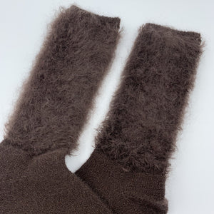 Yak Socks Brown