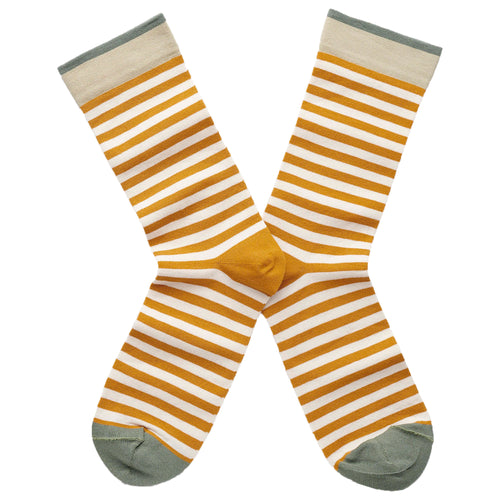 Stripe Socks Honey