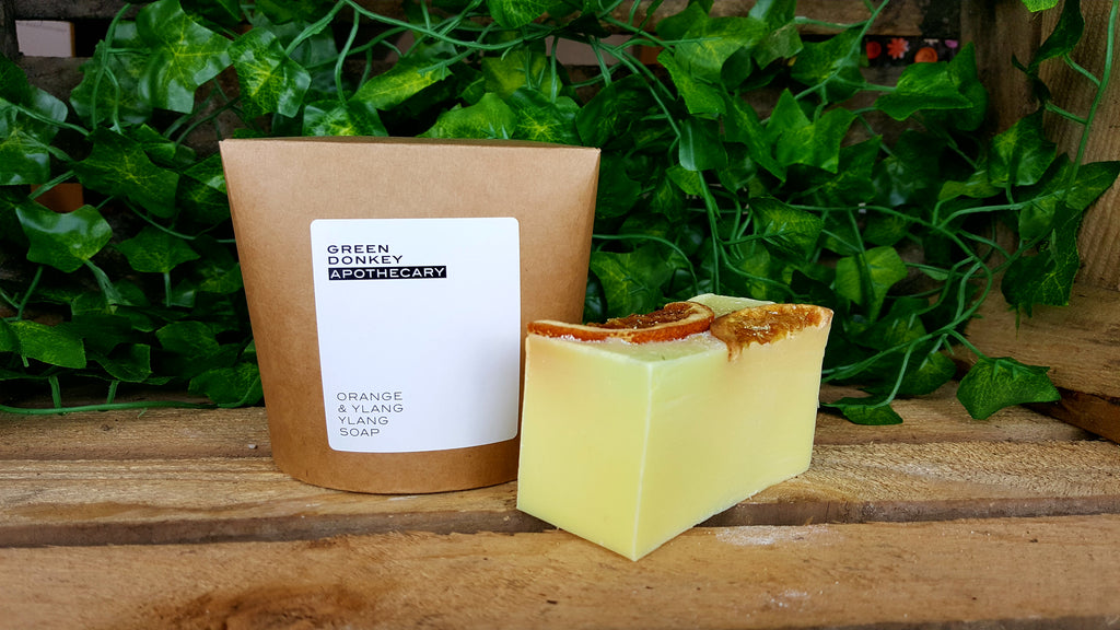 Orange & Ylang Ylang Soap 180g