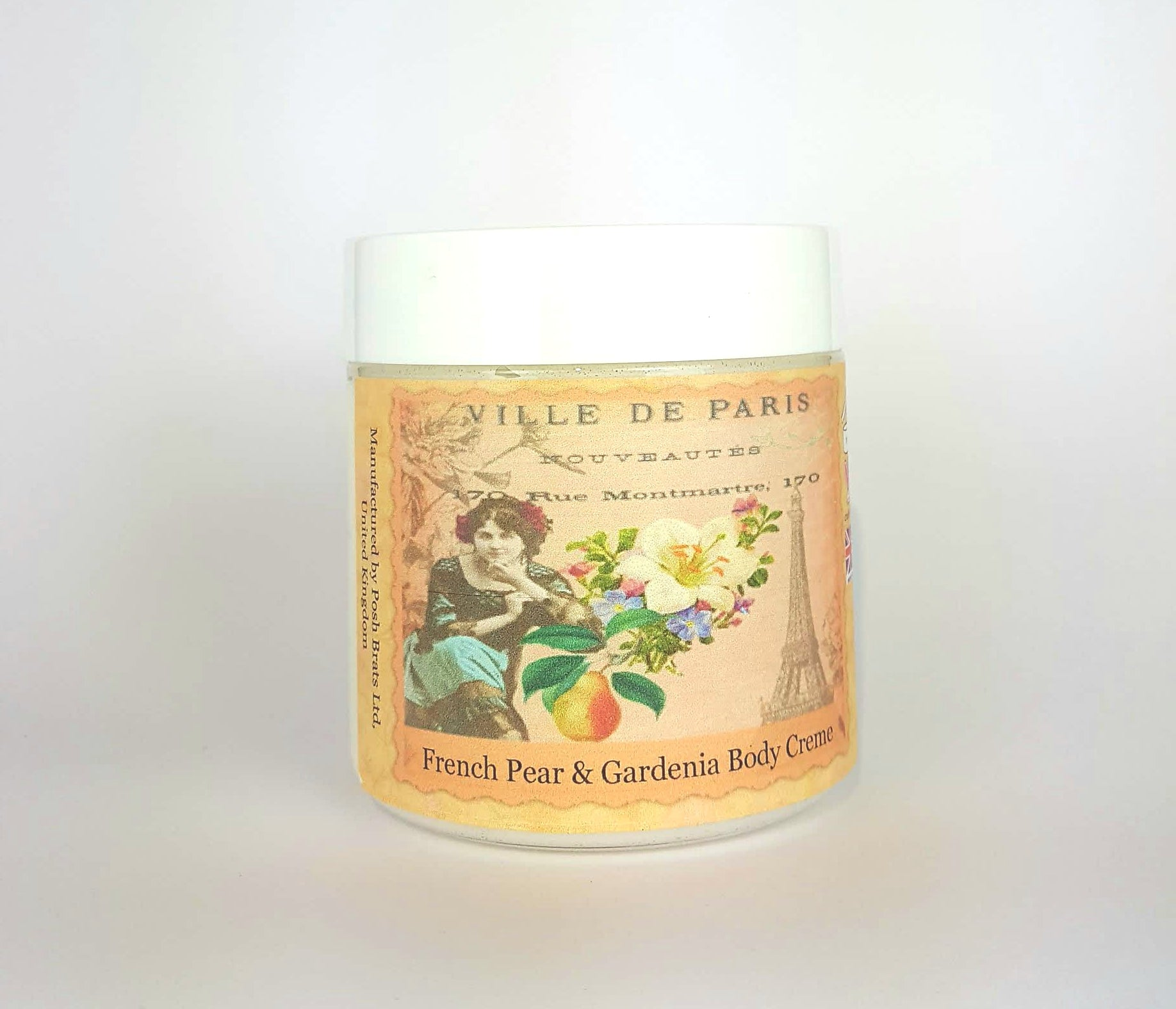 French Pear & Gardenia Luxury Body Creme VEGAN
