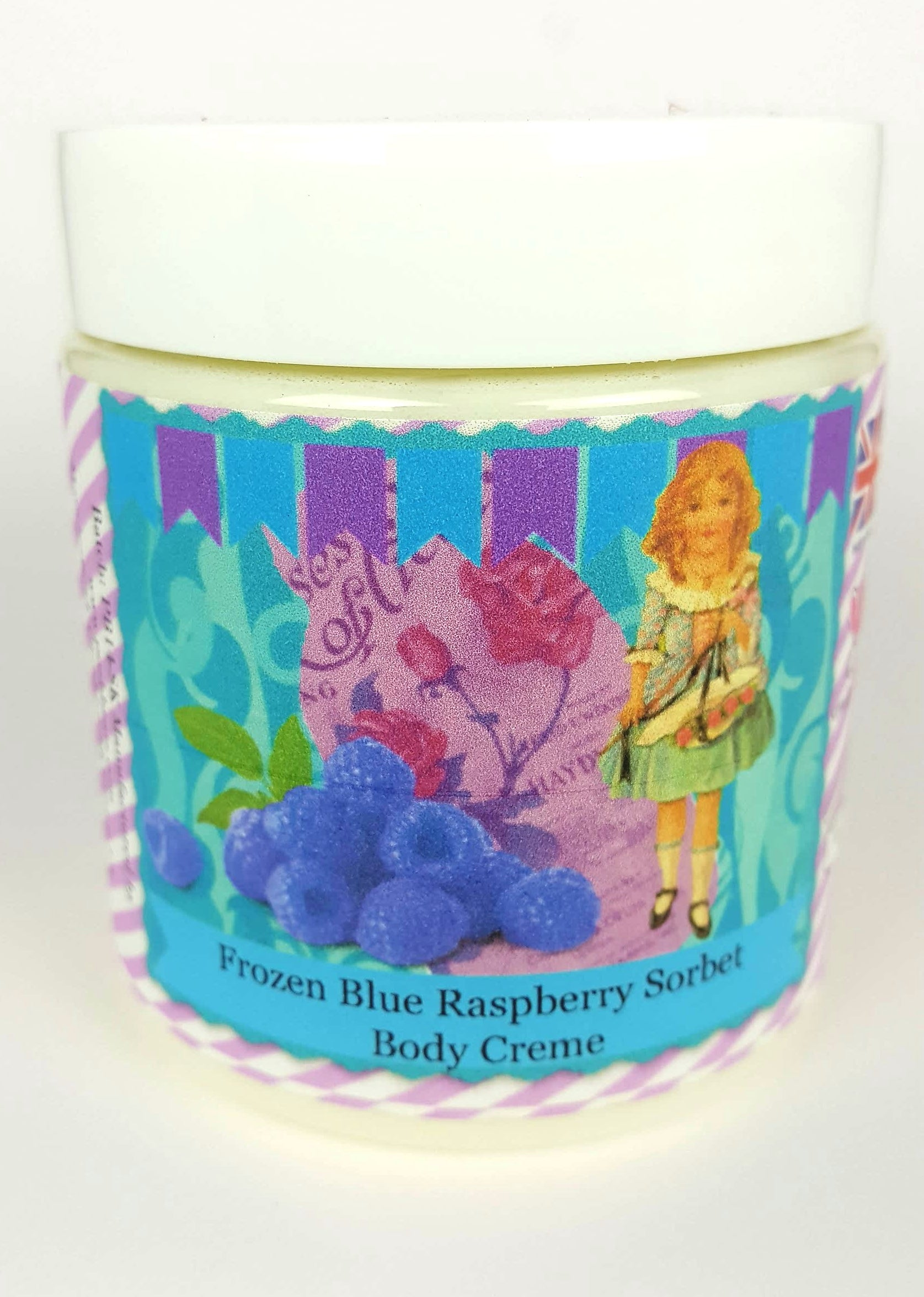 Frozen Blue Raspberry Sorbet Luxury Body Creme VEGAN