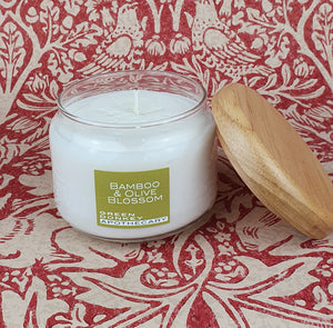 Bamboo & Olive Blossom Soya Pop Candle 325ml