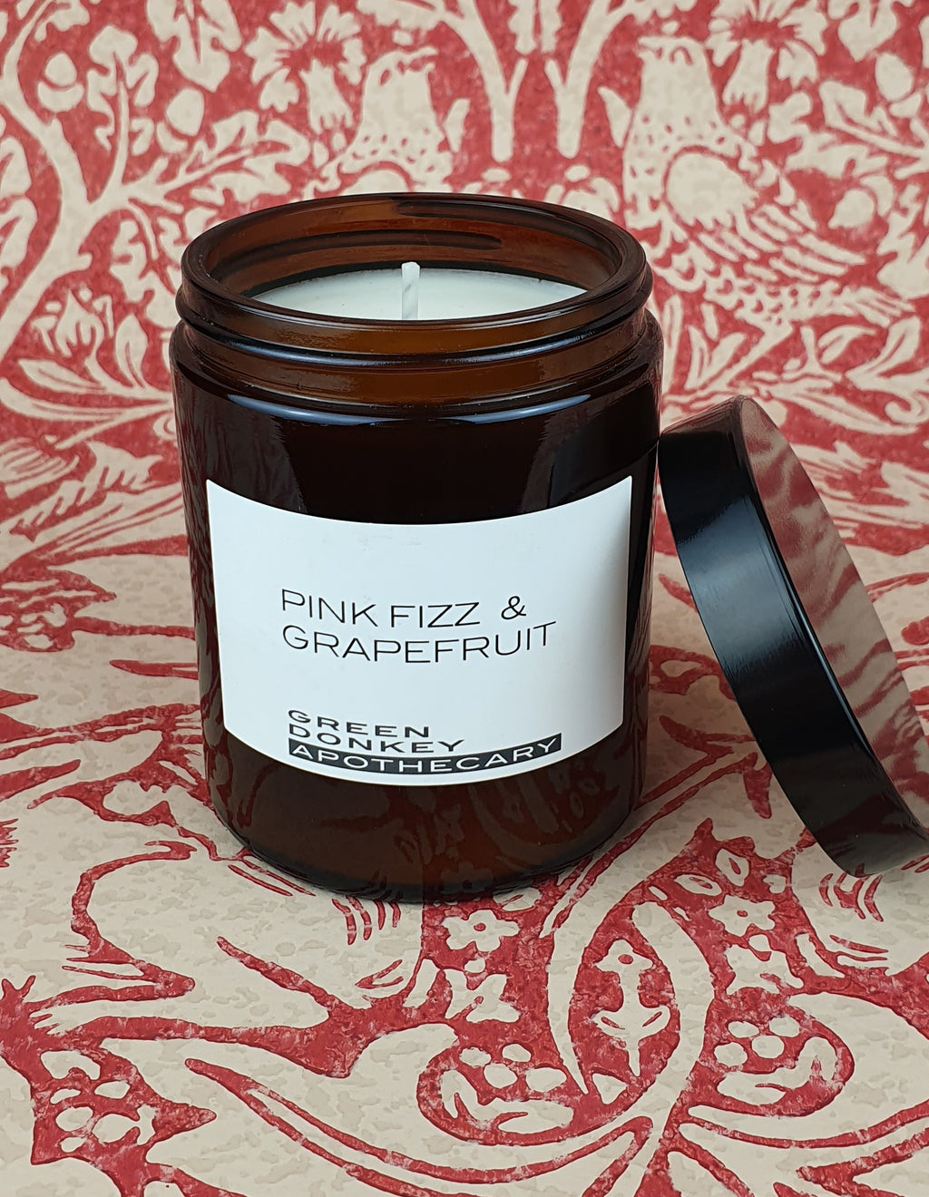 Pink Fizz & Grapefruit Amber Candle 180ml