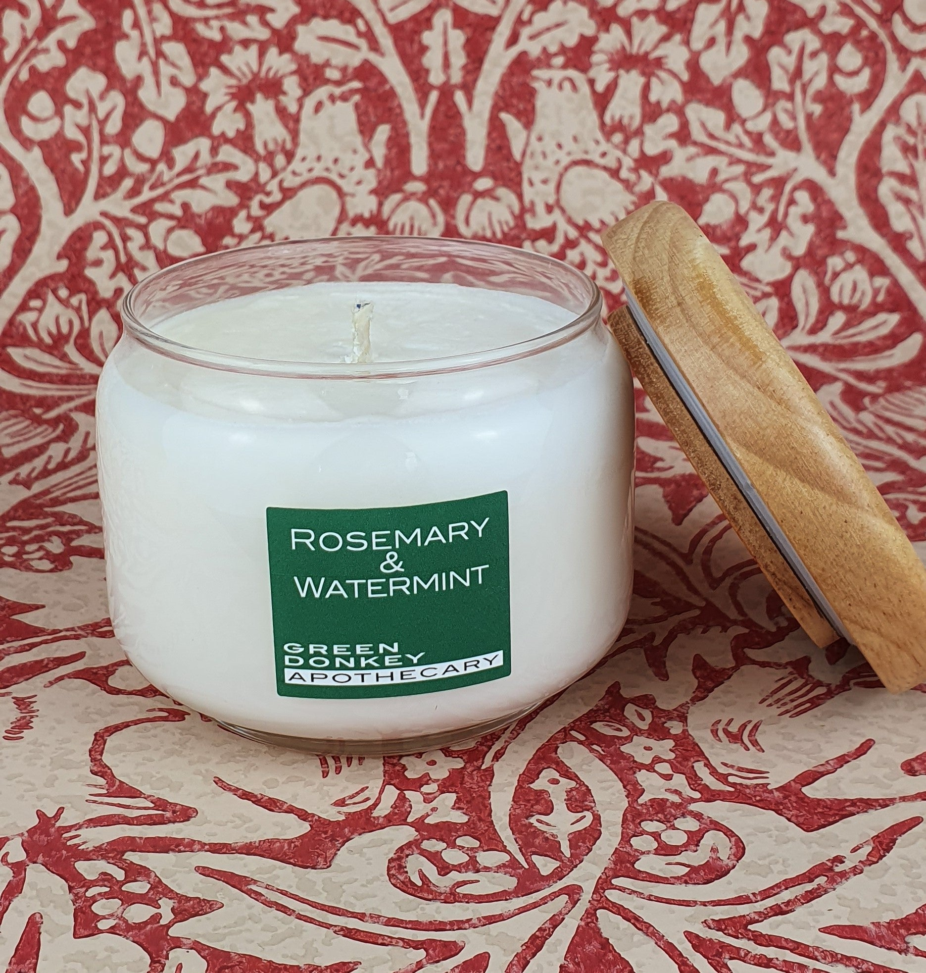 Rosemary & Watermint Soya Pop Candle 325ml