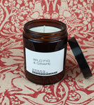 Wild Fig & Grape Amber Candle 180ml