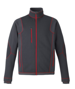 Bonded Fleece Jacket with Contrast Stitching - Men's