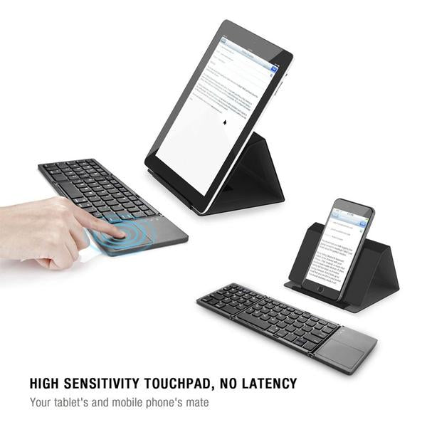 Pocket-Sized Wireless Keyboard for Your Phone & Tablet