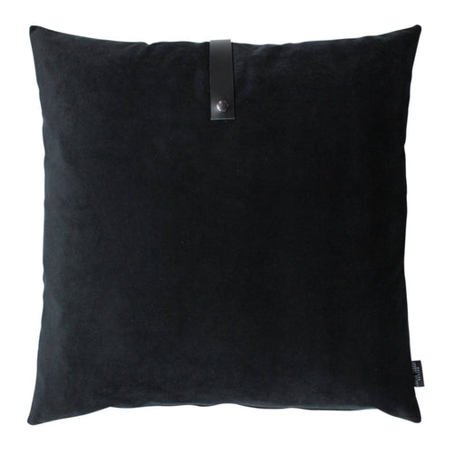 Louise Smærup Pute - Velour - Sort - 65x65 cm-Designfund.no