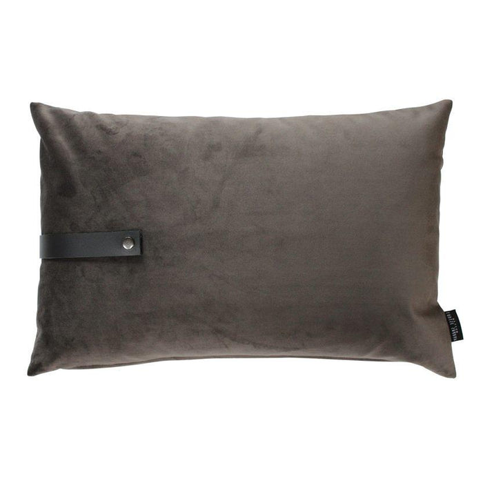 louise smaerup pute velour taupe 60x40