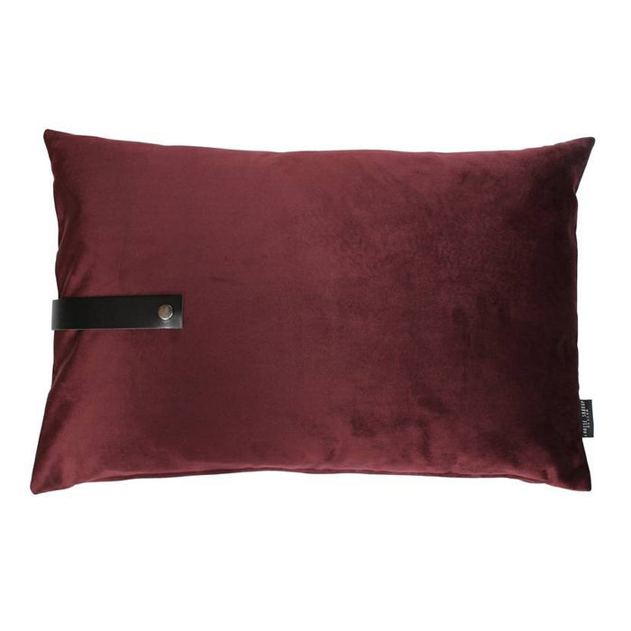 louise smaerup pute velour bordeaux 60x40
