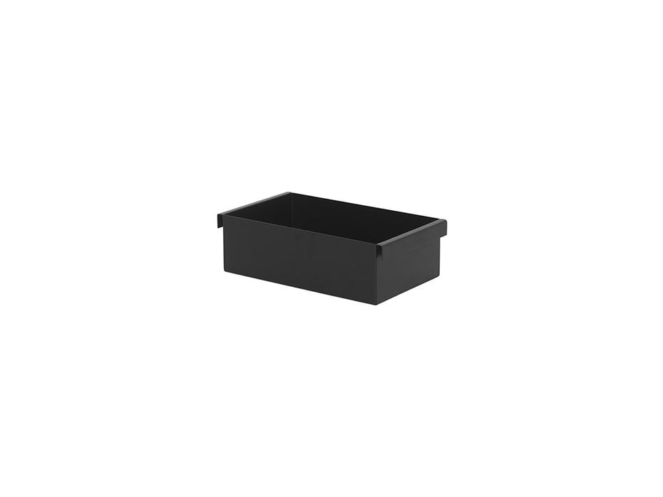ferm living plant box container svart