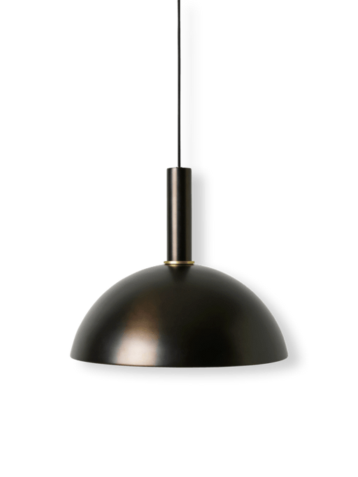 ferm living dome shade svart messing