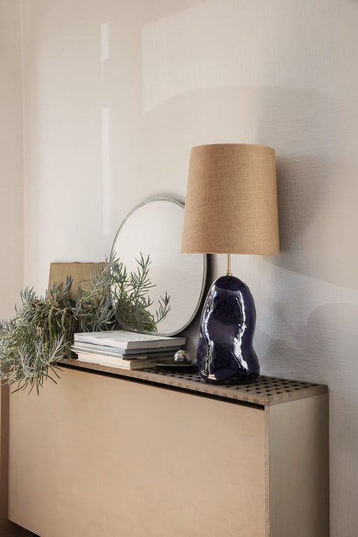 ferm living hebe lampeskjerm medium karry