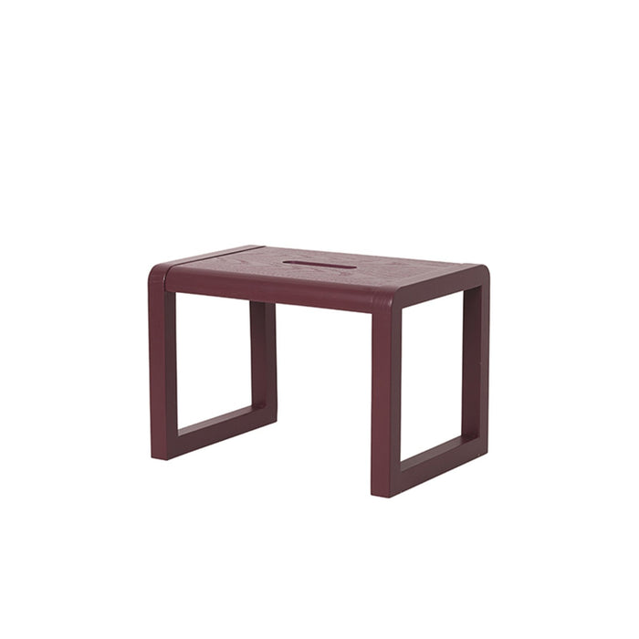ferm living kids skammel bordeaux