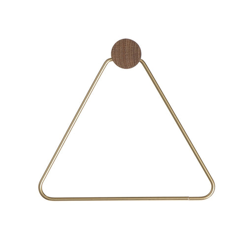 ferm LIVING Toalettrullholder - messing-Designfund.no