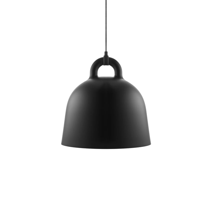 normann copenhagen bell lampe medium sort
