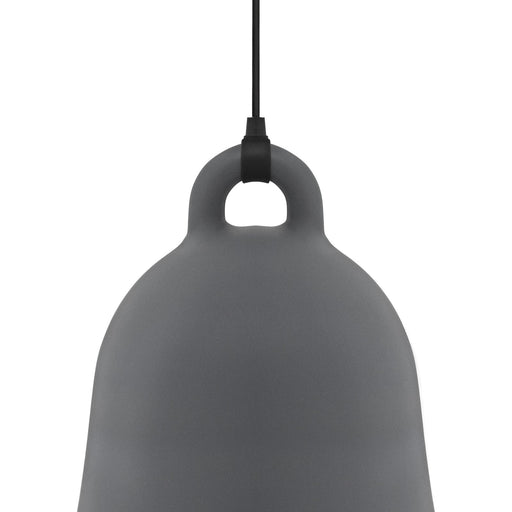 normann copenhagen bell lampe medium gra