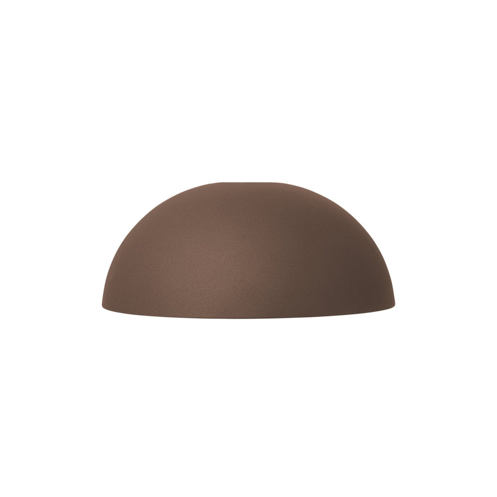 ferm living dome shade rodbrun