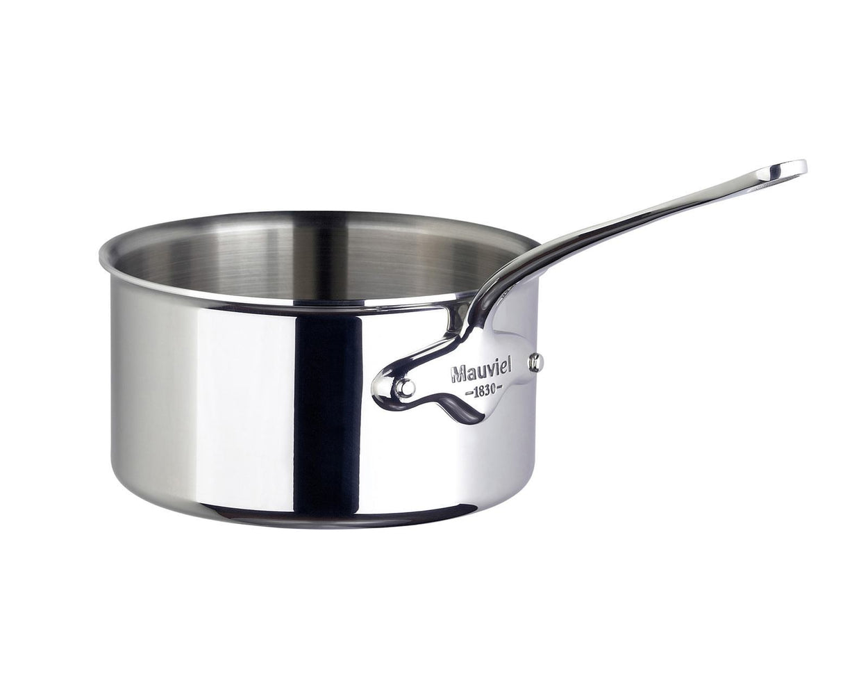 mauviel cook style kasserolle stal 2 5 liter o18cm h10cm