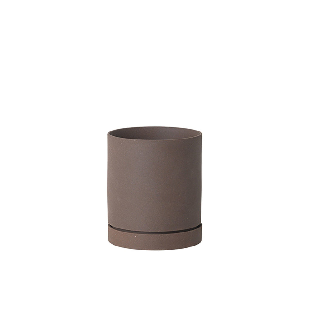 ferm living sekki potte rust medium