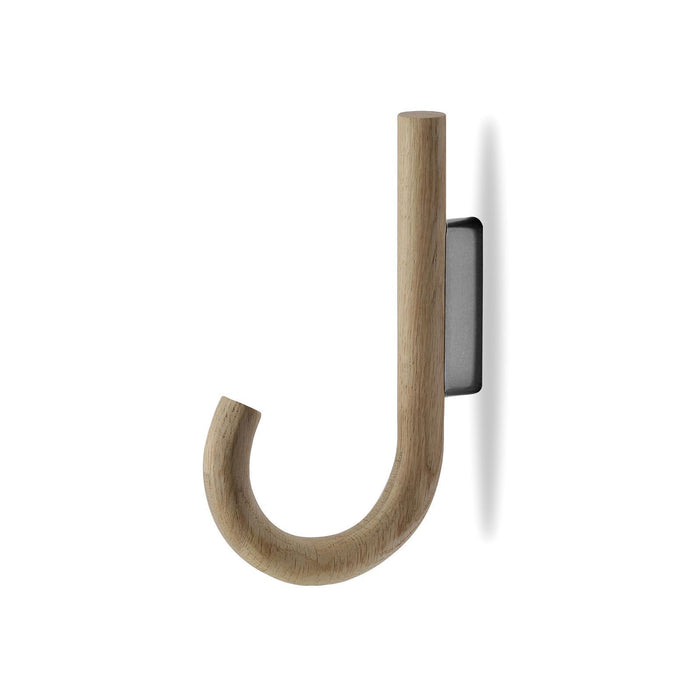 munk collective hook oak black chrome