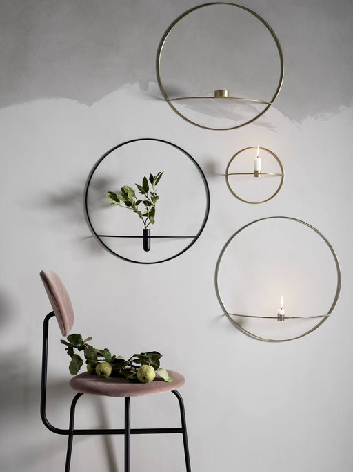 Menu POV Circle vase - Svart-Designfund.no